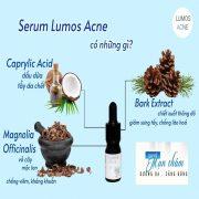 serum lumos acne mỹ